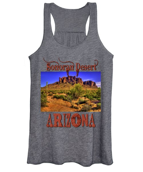 Superstition Mountain Late Afternoon Women's Tank Top