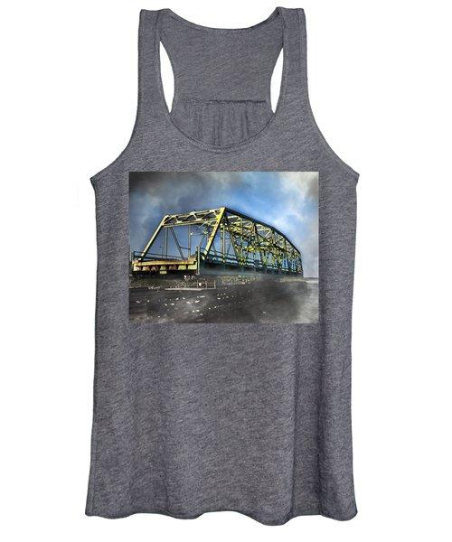 Surf City Nc Swing Bridge Women's Tank Top