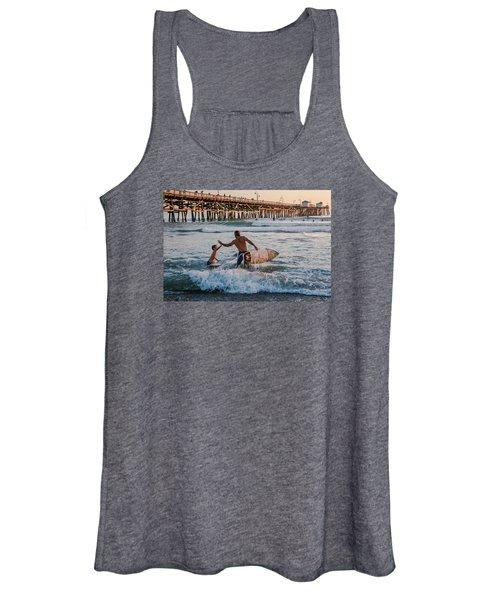 Surfboard Inspirational Women's Tank Top