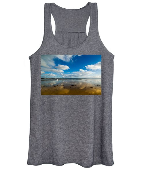 Surfing The Sky Women's Tank Top