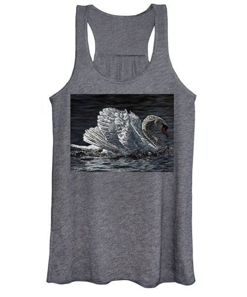 Swan Women's Tank Top