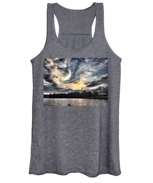 Swirl Sky Sunset Women's Tank Top