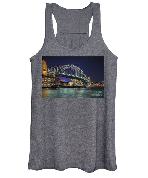 Sydney Harbor Bridge At Night Women's Tank Top