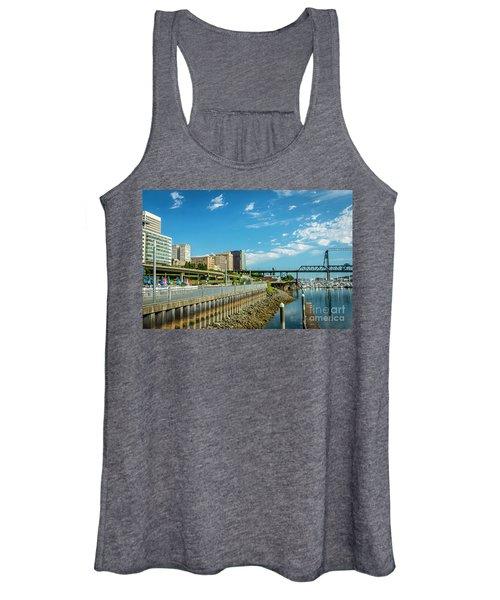 Tacoma And 11th Street Bridge Women's Tank Top