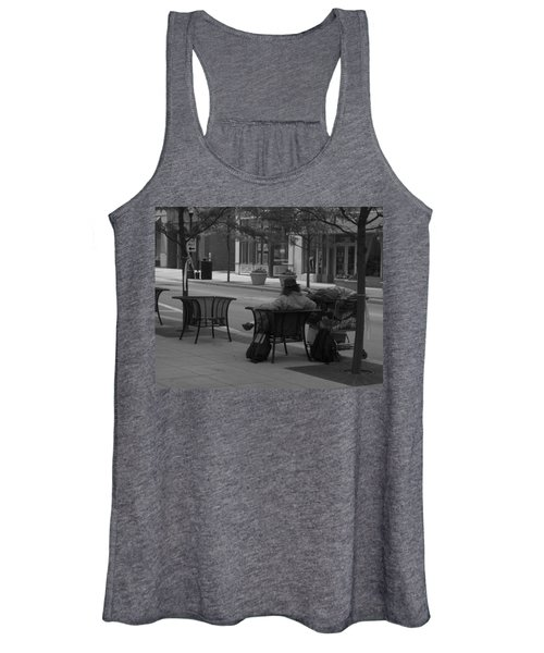 Women's Tank Top featuring the photograph Taking It Easy by Michael Colgate