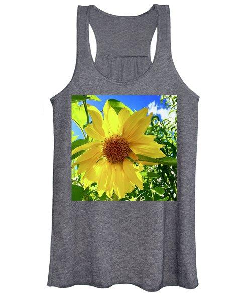 Tangled Sunflower Women's Tank Top