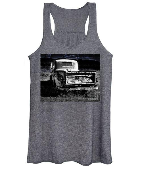 Taos Dodge B-w Women's Tank Top