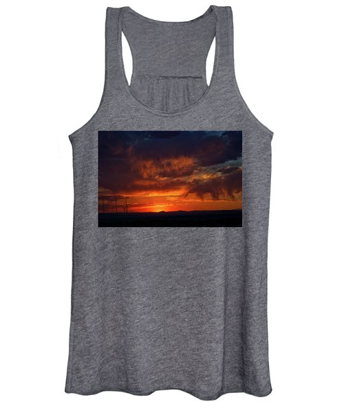 Taos Virga Sunset Women's Tank Top