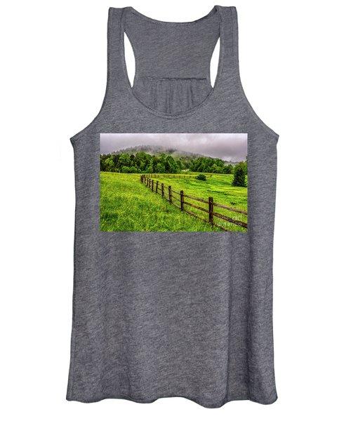 Tea Creek Meadow And Buttercups Women's Tank Top