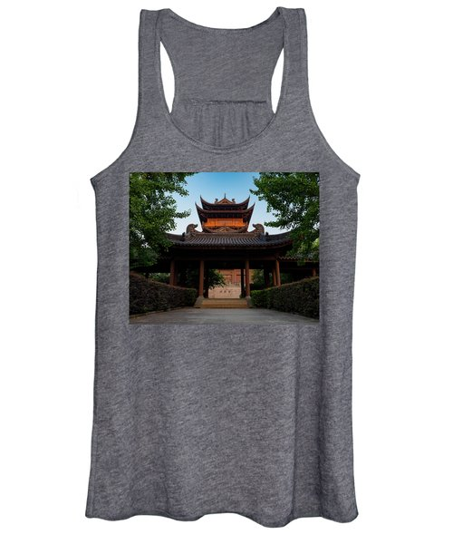 Tea House In The Morning I Women's Tank Top