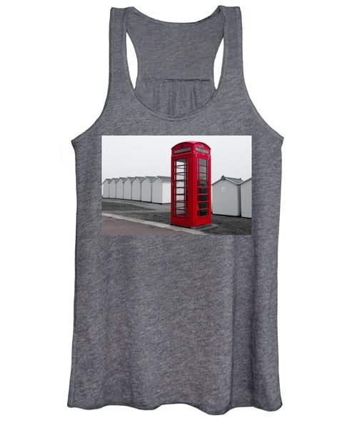 Telephone Box By The Sea I Women's Tank Top