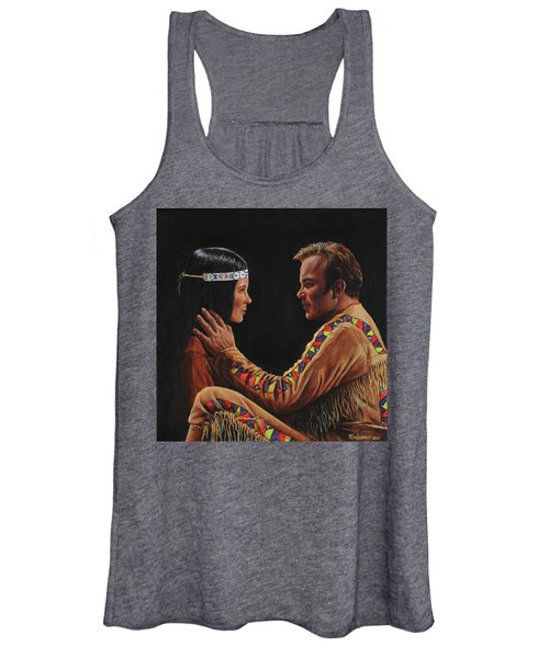 Tenderness In His Touch Women's Tank Top