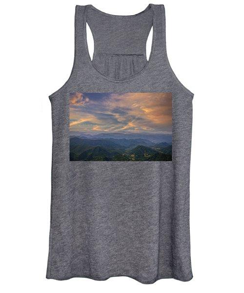 Tennessee Mountains Sunset Women's Tank Top