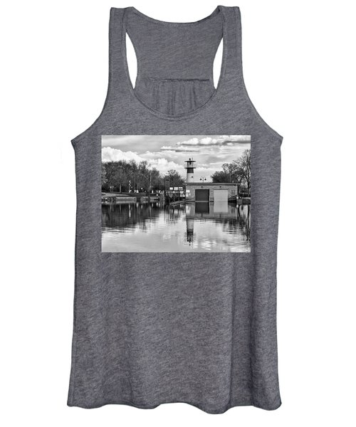 Tenney Lock 3 - Madison - Wisconsin Women's Tank Top
