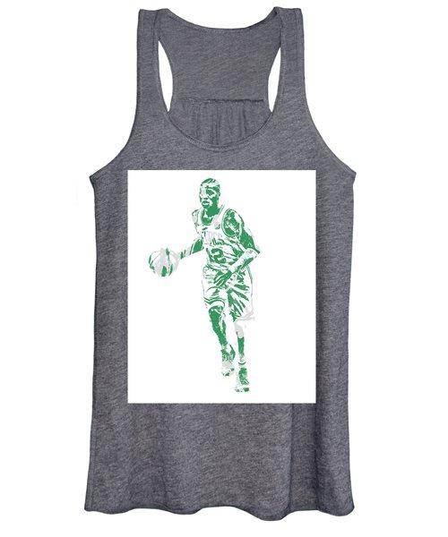 Terry Rozier Boston Celtics Pixel Art 10 Women's Tank Top