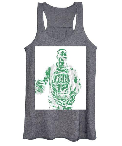 Terry Rozier Boston Celtics Pixel Art 11 Women's Tank Top