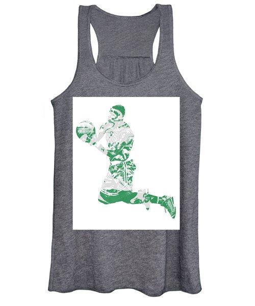 Terry Rozier Boston Celtics Pixel Art 12 Women's Tank Top