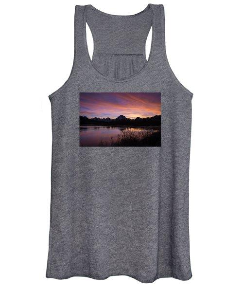 Teton Sunset Women's Tank Top