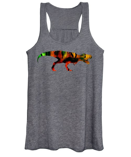 Tex The T-rex  Women's Tank Top