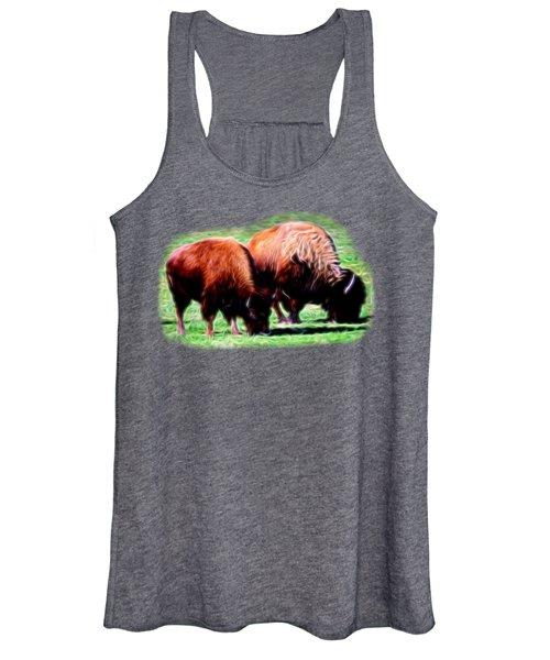 Texas Bison Women's Tank Top