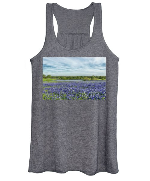 Texas Bluebonnets 13 Women's Tank Top