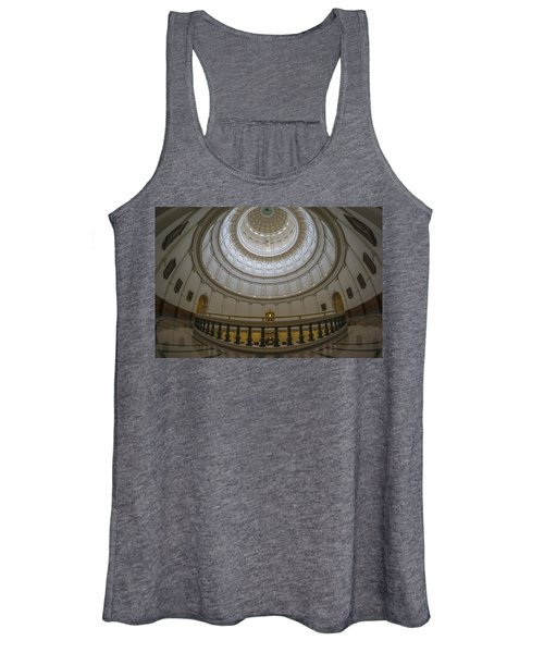 Texas Capitol Dome Wide Angle Women's Tank Top