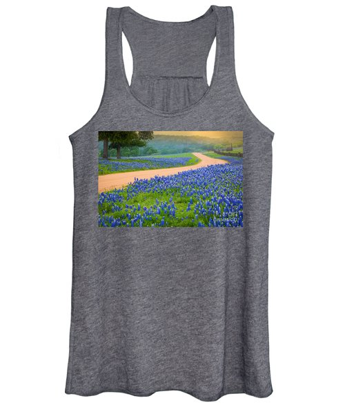 Texas Country Road Women's Tank Top