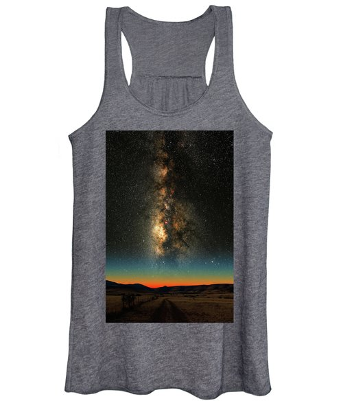 Texas Milky Way Women's Tank Top