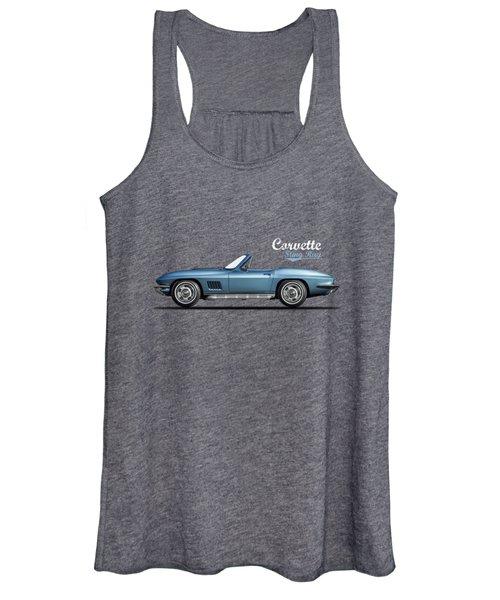 The 67 Corvette Stingray Women's Tank Top