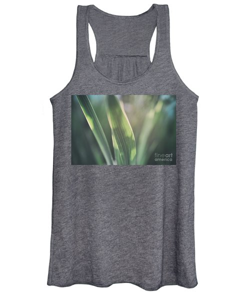 The Allotment Project - Sweetcorn Leaves Women's Tank Top