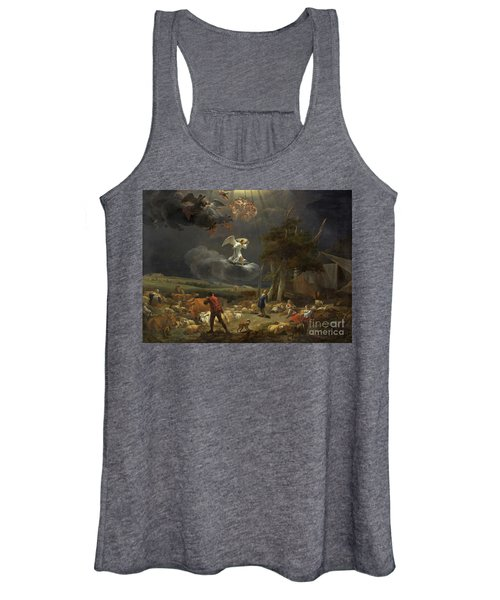 The Annunciation To The Shepherds Women's Tank Top