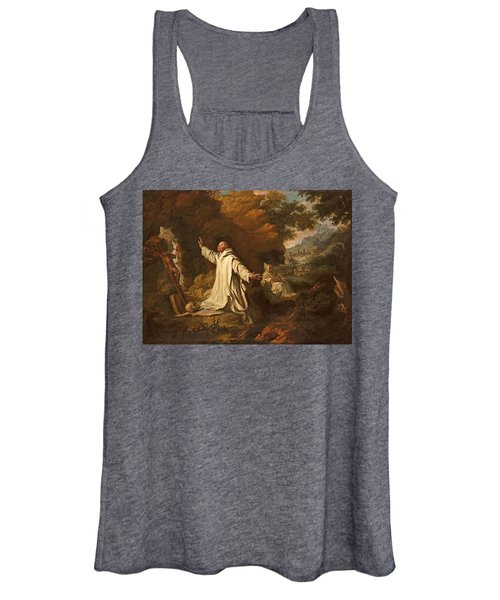 The Apparition Of The Virgin Mary To Saint Bruno Women's Tank Top