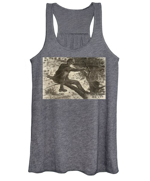 The Army Of The Potomac  A Sharpshooter Women's Tank Top