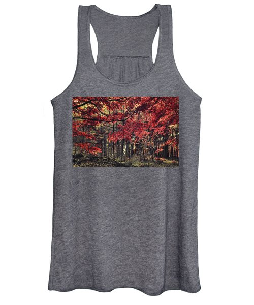 The Autumn Colors Women's Tank Top