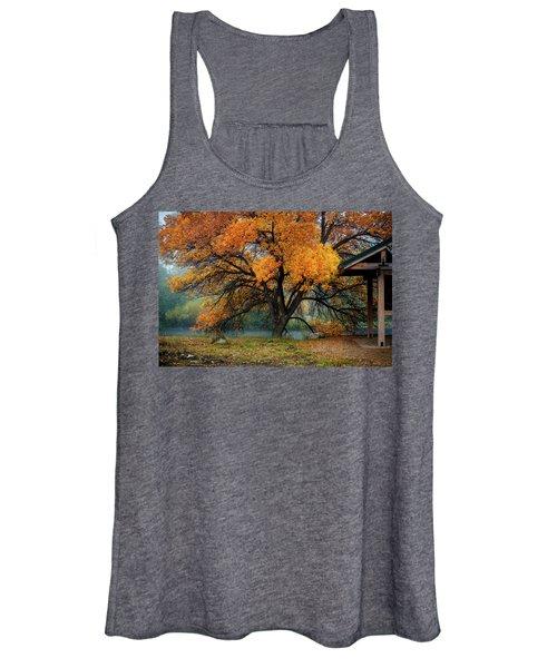 The Autumn Tree Women's Tank Top