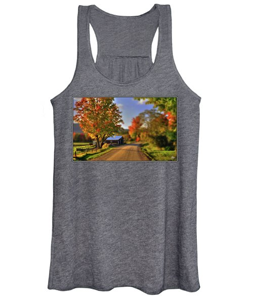 The Barn At The Bend Women's Tank Top