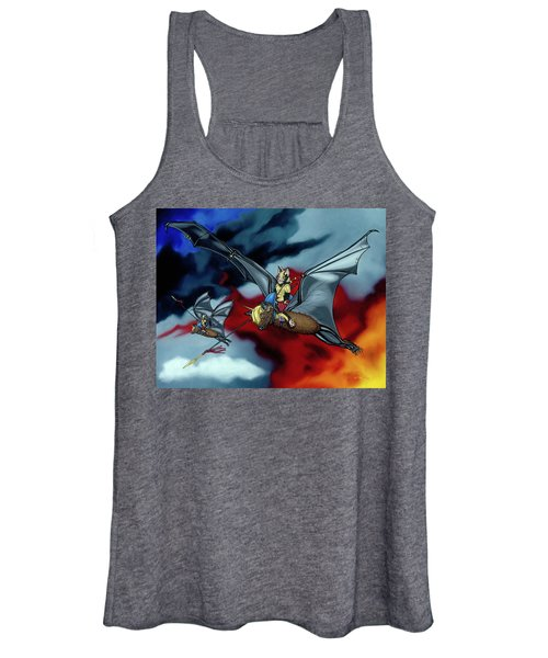 The Bat Riders Women's Tank Top