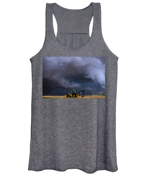 The Beauty And The Deere Women's Tank Top