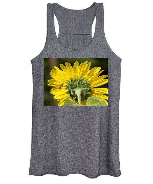 The Bee Lady Bug And Sunflower Women's Tank Top