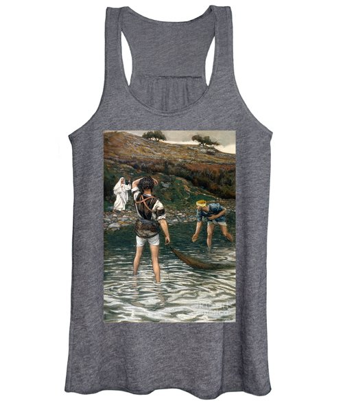 The Calling Of Saint Peter And Saint Andrew Women's Tank Top
