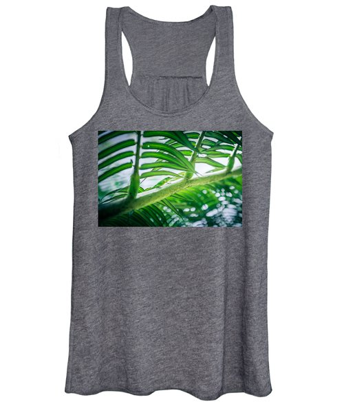 The Camouflaged Women's Tank Top