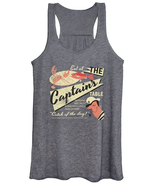 The Captain's Table Women's Tank Top