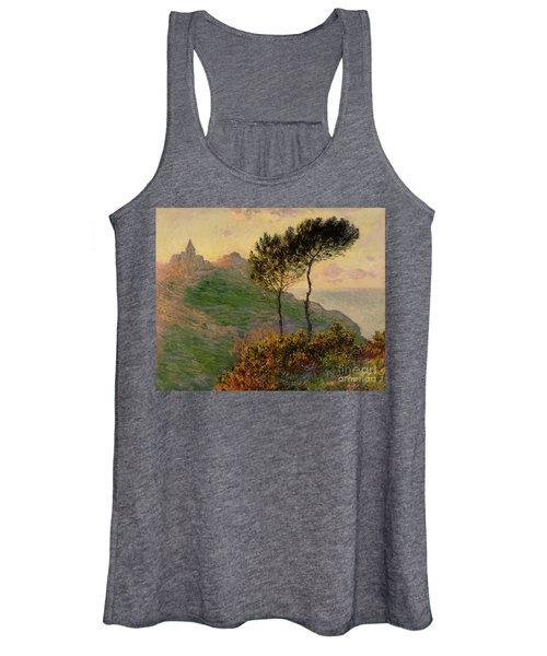 The Church At Varengeville Against The Sunlight Women's Tank Top
