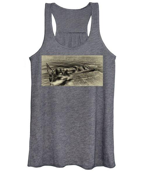 The Classic 1958 Chris Craft Women's Tank Top
