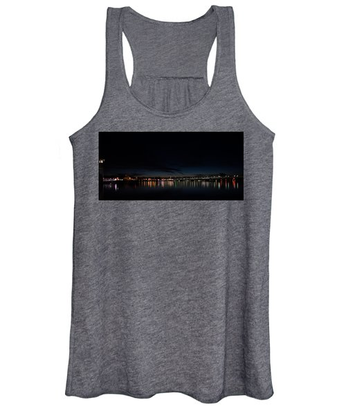 The Colors Of A Nightly Bridge Women's Tank Top