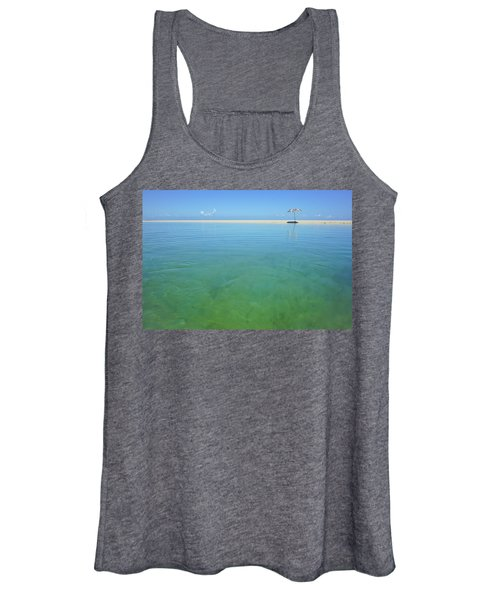 The Colours Of Paradise On A Summer Day Women's Tank Top