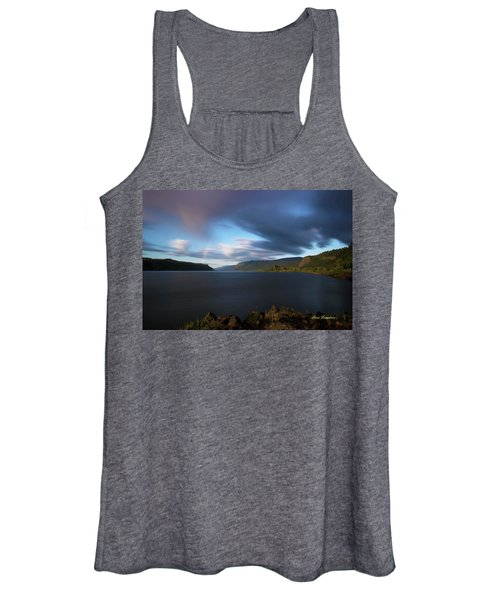 The Columbia River Gorge Signed Women's Tank Top