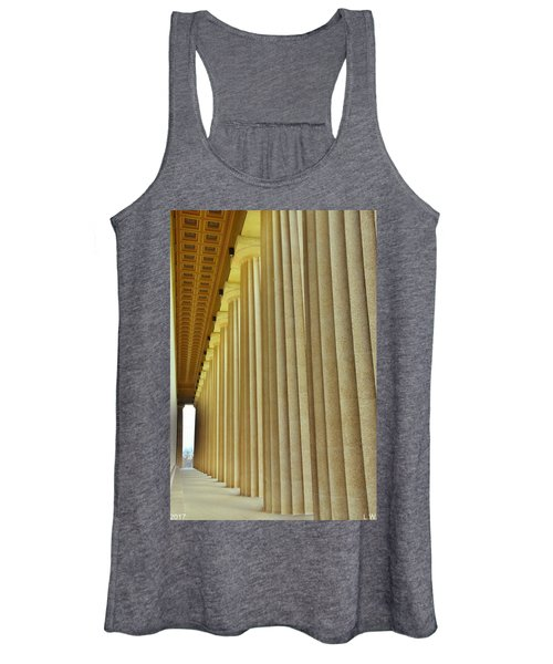 The Columns At The Parthenon In Nashville Tennessee Women's Tank Top
