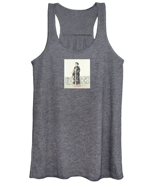 The Costume Of China Women's Tank Top