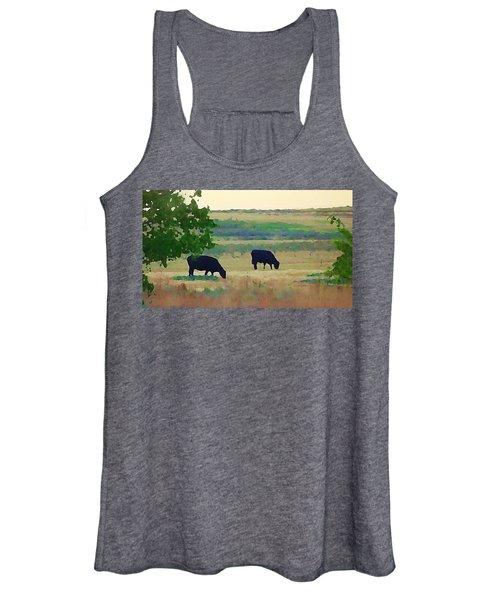 The Cows Next Door Women's Tank Top